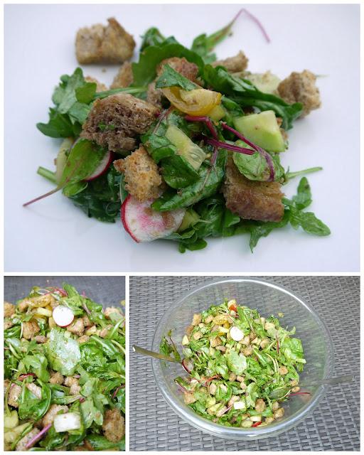 Brotsalat | Rezept | Kochen | Sommerküche