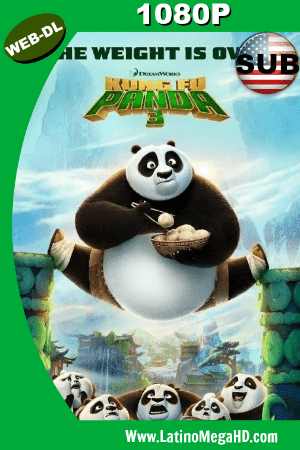 Kung Fu Panda 3 (2016) Subtitulado HD WEB-DL 1080P ()