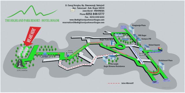 The Highland Park Resort Bogor, Ciapus-Bogor 242