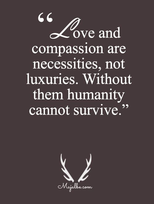 Humanity Cannot Survive Without Love