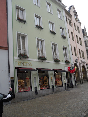 culinary adventures in europe caf prinzess regensburg germany. Black Bedroom Furniture Sets. Home Design Ideas