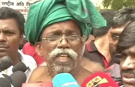 Tamil Nadu government says no farmers died of drought: Ayyakannu's views