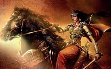 First Look poster of Sangamithra revealed at Canes