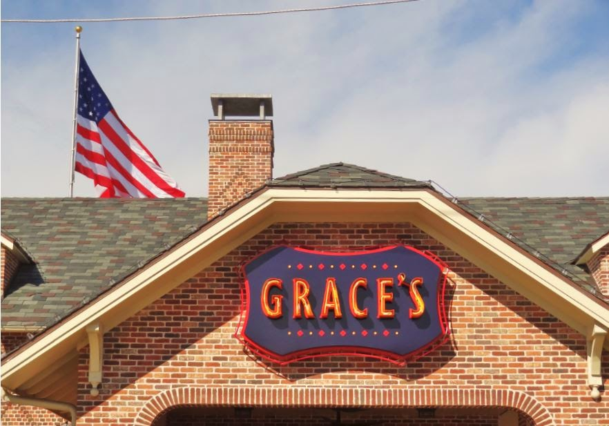 Grace's (signage on restaurant and flag) 3111 Kirby Drive Houston, TX 77098