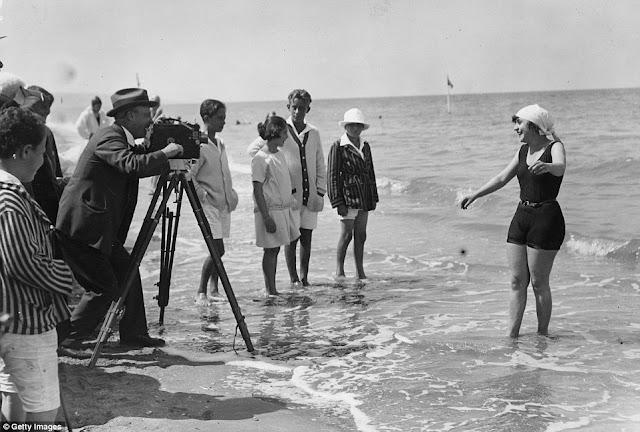 playa agosto de 1922.