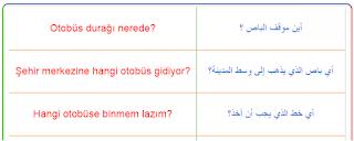الماصلات العامة في اللغة التركية