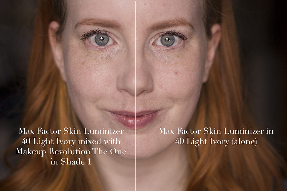Max Factor Skin Luminizer 40 Light Ivory Review Before After