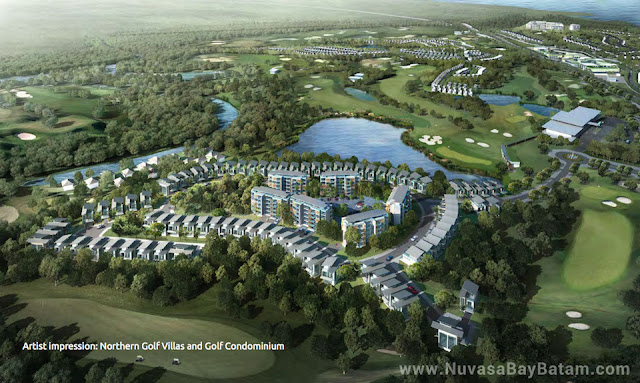 Nuvasa Bay Batam Northern Golf Villas and Condominium