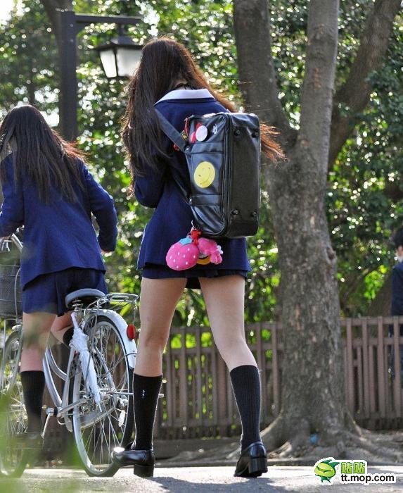 School Uniform Mini Skirt In Japan