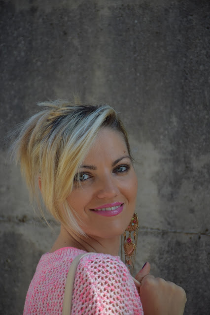 mariafelicia magno fashion blogger blogger italiane di moda web influencer italiane ragazze bionde blonde hair blondie blonde girls colorblock by felym fashion bloggers italy