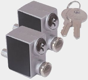Handle Supplies Extra Security On Sliding Patio Doors