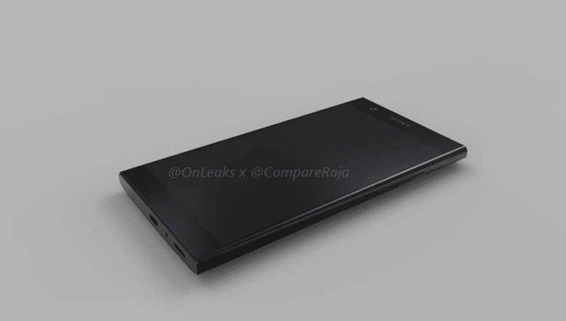 Sony Xperia L2 3D video render leaks