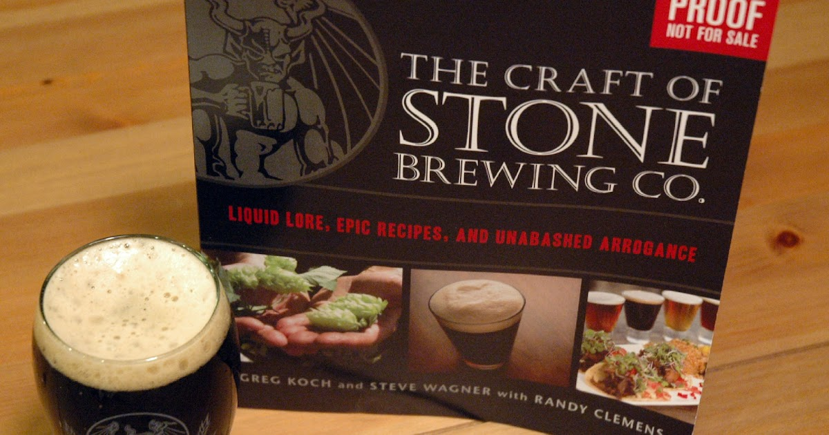 The Not So Professional Beer Blog First Look The Craft Of Stone