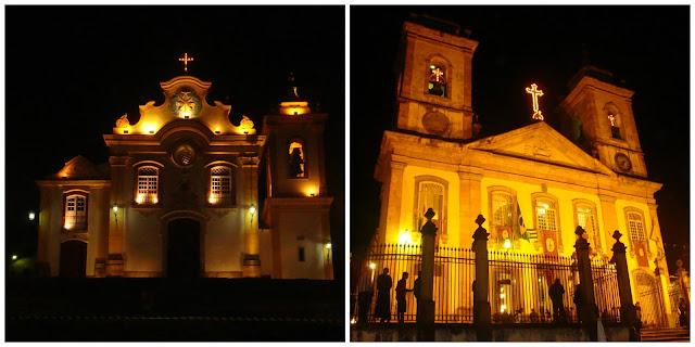 Igreja Nossa Senhora das Mercês e Igreja Nossa Senhora do Pilar em São João del Rei - MG