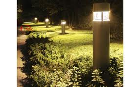 Bollard Lights Are A Very Specific Type Of Outdoor Light Sometimes Referred To As Post Because Their Design The Word Stems From