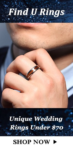 Unique Wedding Rings Advert