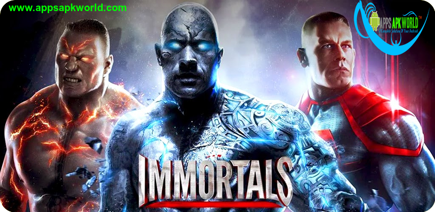 WWE Immortals v1.2.1 Mod Apk + OBB Data [Unlimited Energy]