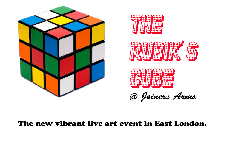 The Rubik's Cube @ Joiners Arms. Curated by iceberg Fernandez.