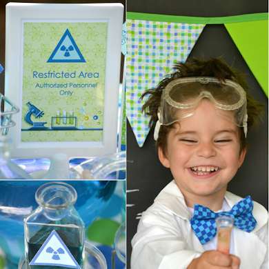 Mad Scientist Science Birthday Party Ideas