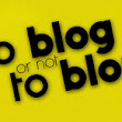 """To blog or not to blog"" - po debacie przy herbacie"