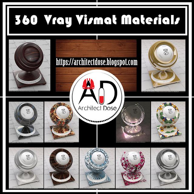 360 Vismat Vray Materials