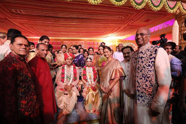 Governor narasimhan at subbarami reddy grandson wedding