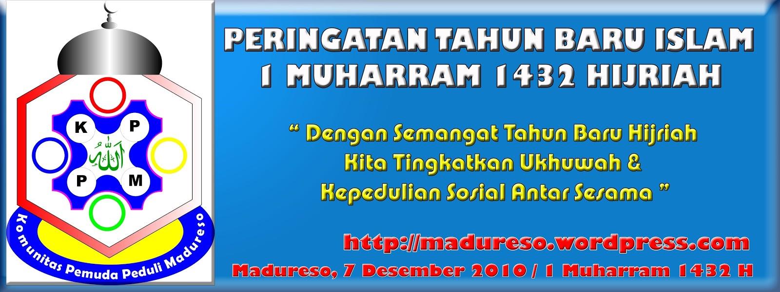 spanduk tahun baru islam