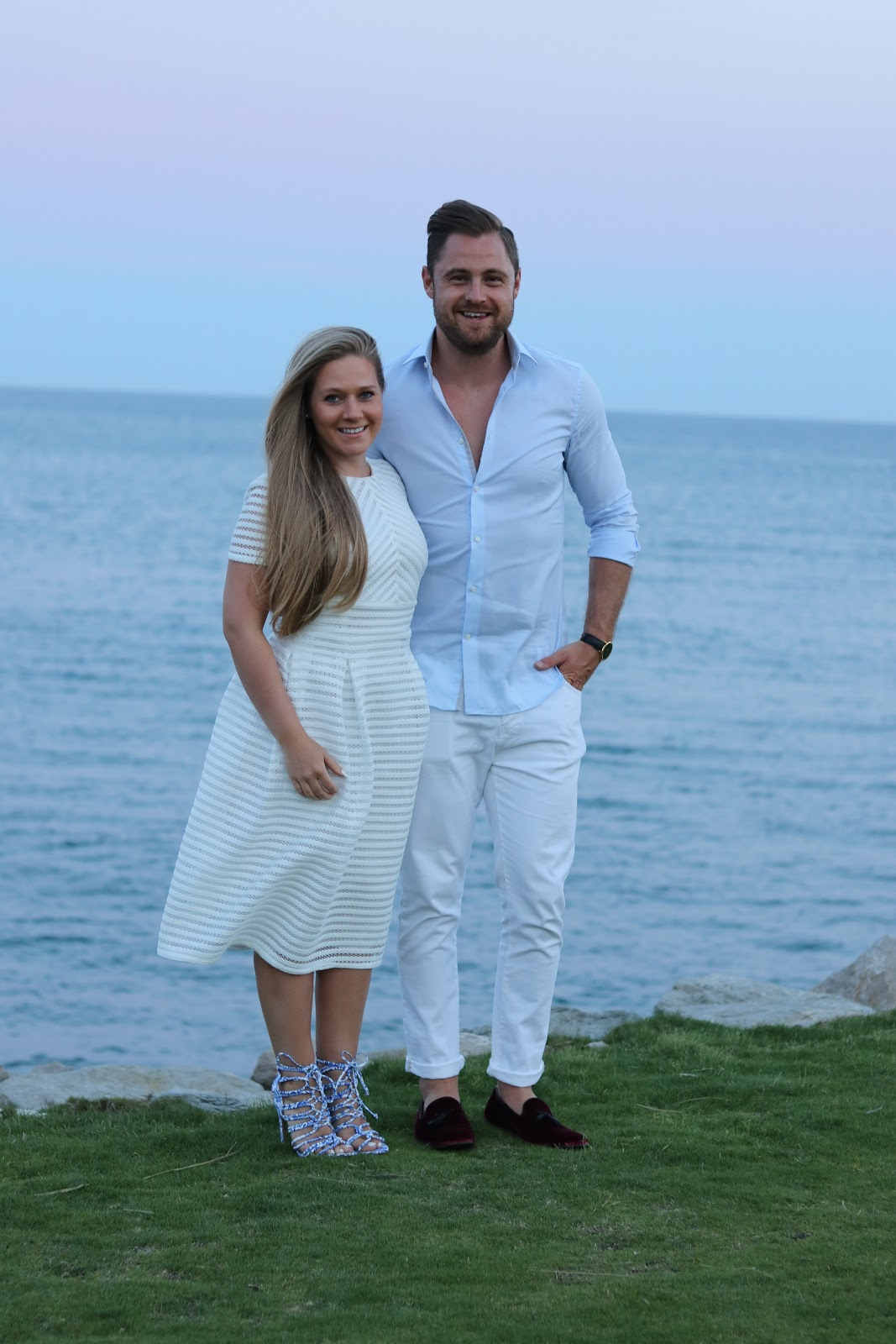 Katie Heath and Ben Heath in Sotogrande, Spain