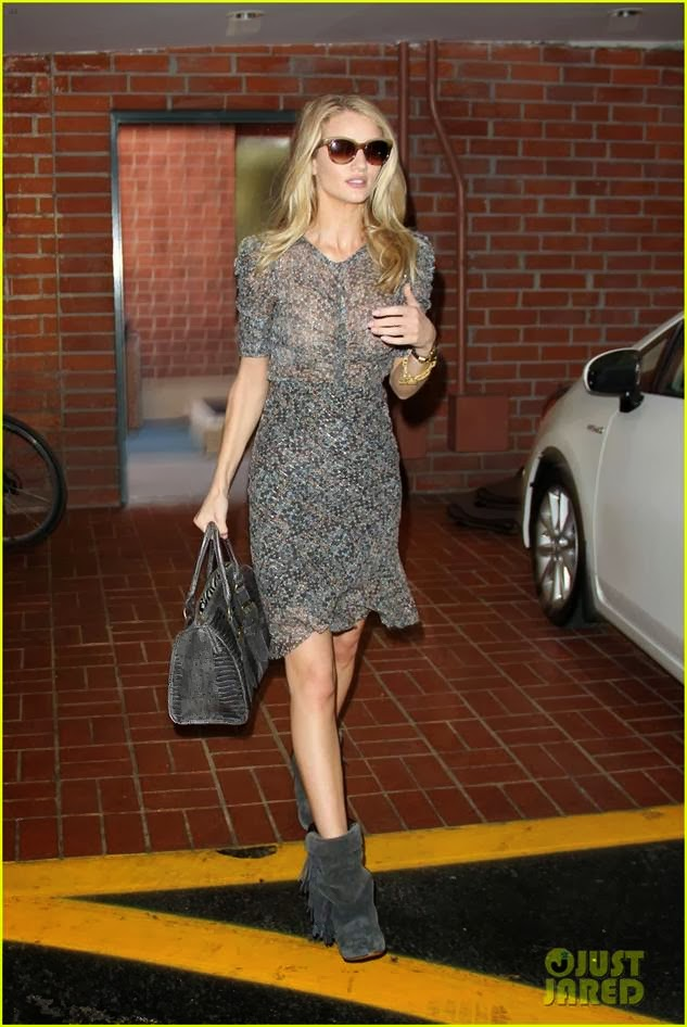 8fd466e0b44 Fashion of Philly: Rosie Huntington-Whiteley Wears Isabel Marant For H&M