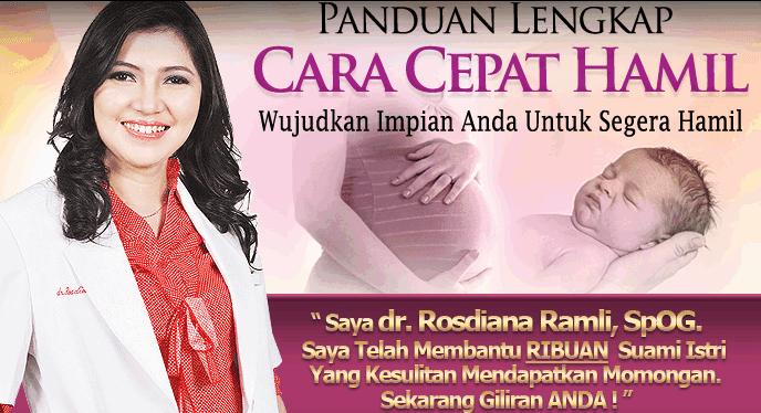 Panduan Lengkap Cara Cepat Hamil dr. Rosdiana Ramli, SpOG