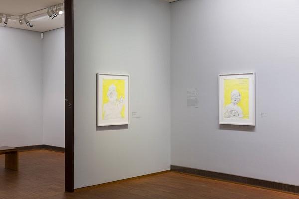 Exhibition view 2, Maria Lassnig - Dialogues