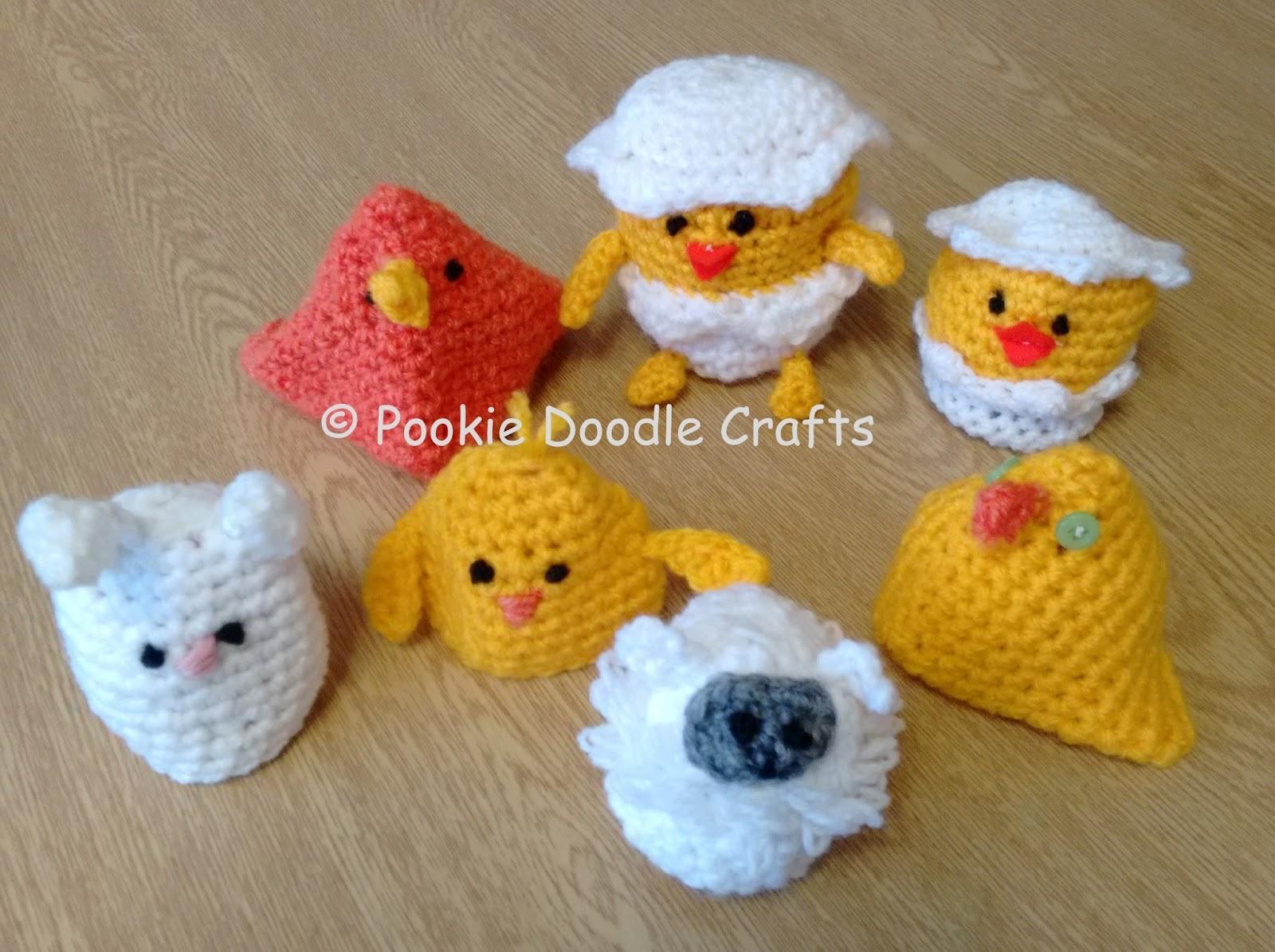 Pookie Doodle Crafts: Crochet Amigurumi Chocolate Easter Egg Holders ...