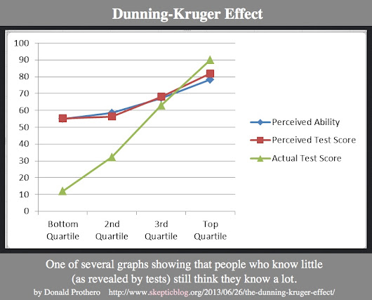 The Dunning Krueger Effect in (my own) High Demand Relationships