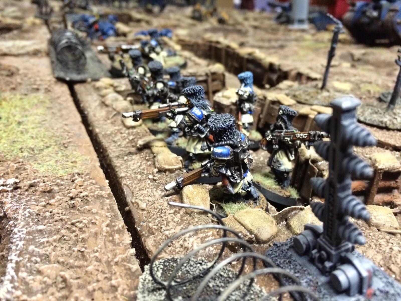 Vostroyan Scions: Fawcett Avenue Conscripts: Trench Warfare