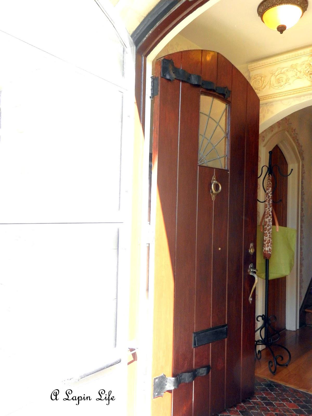 A Lapin Life English Tudor Front Door
