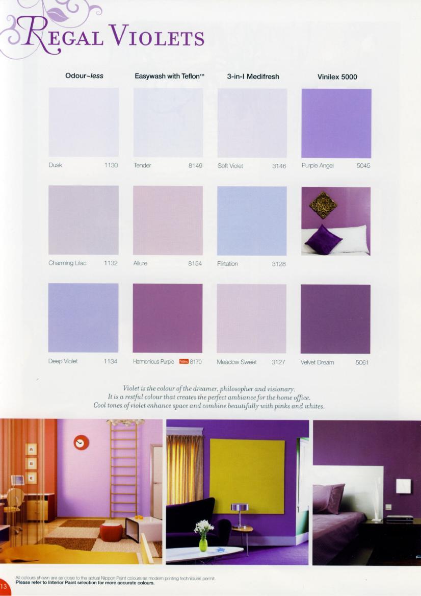Warna Ruang Keluarga Nippon Paint