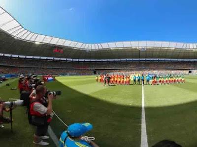 Getty Images تنقل الألعاب الأولمبية بصور بانورامية 360 درجة