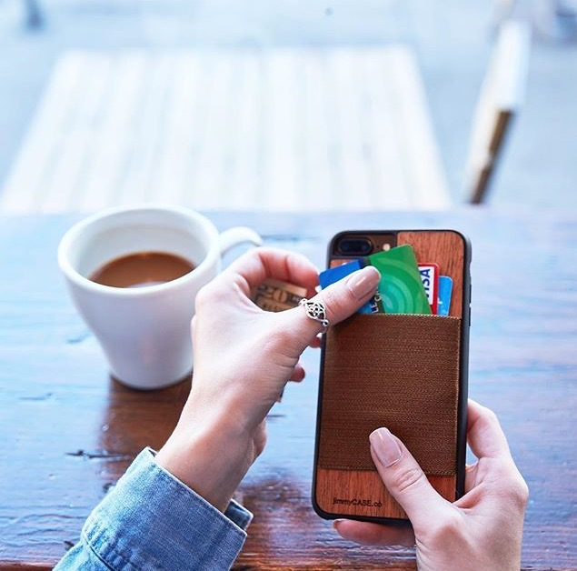 Phone Case and Wallet In One?   All about the JimmyCase!