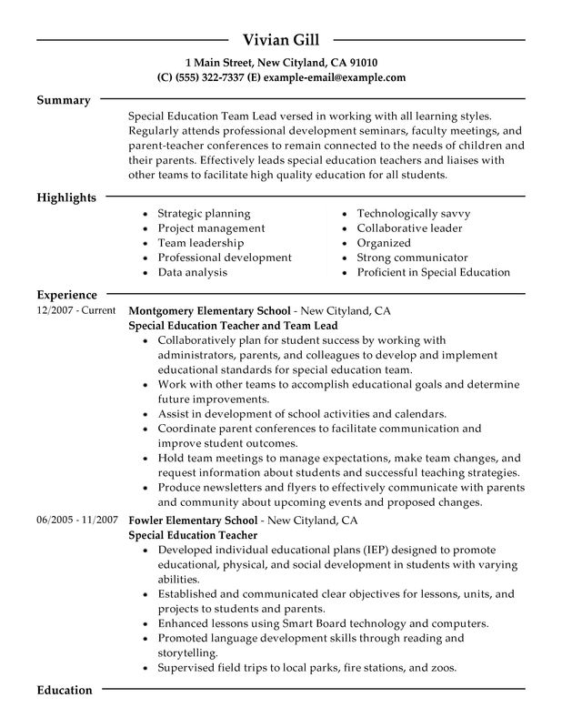 General Resume Template Leads To Interview - Dadakan
