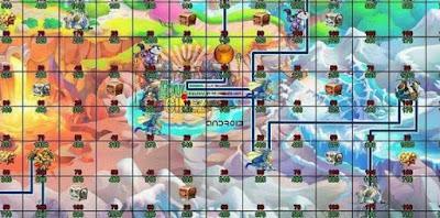 Mapa de Recompensas da Ilha Ragnarok