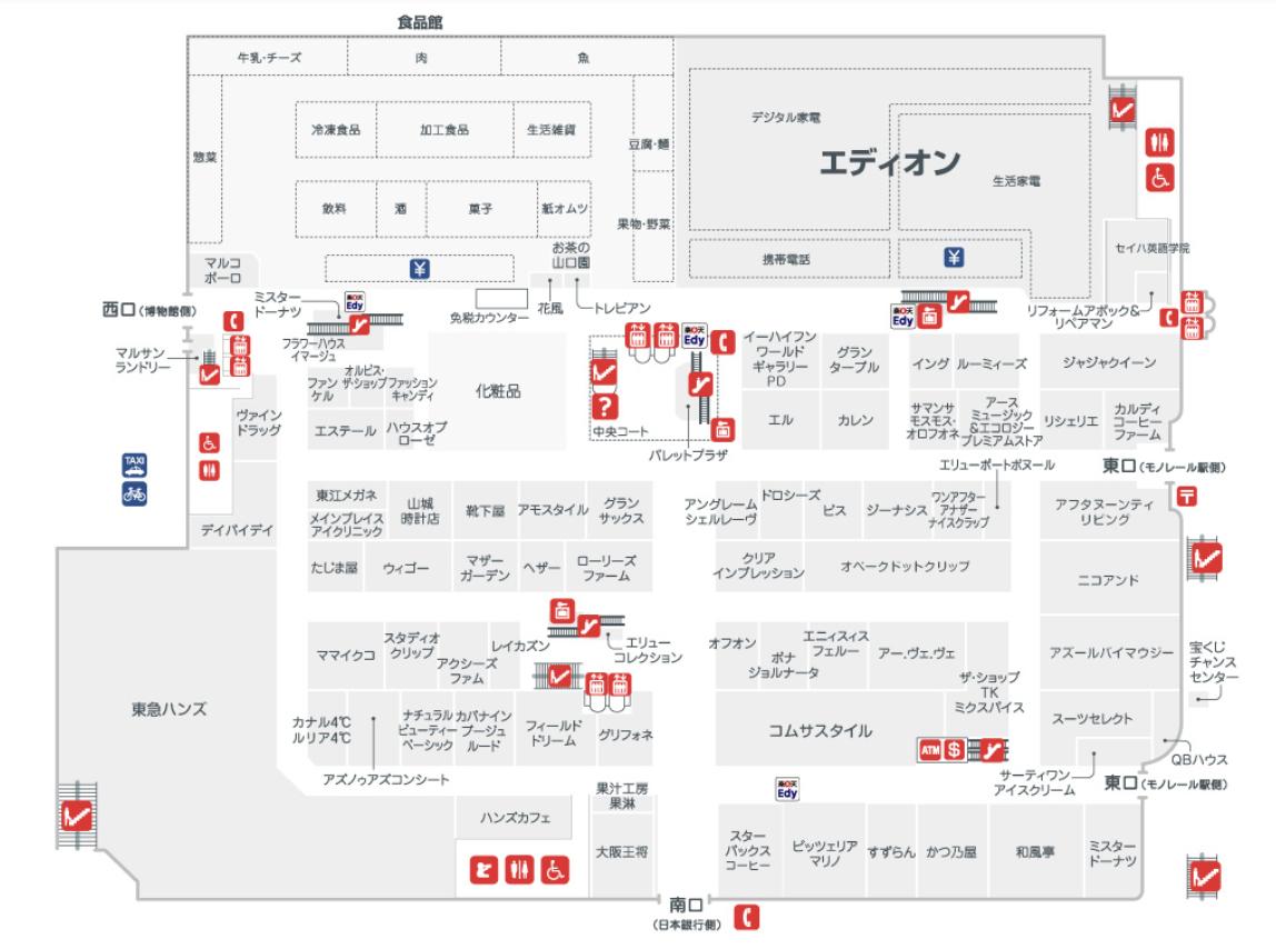 沖繩-景點-推薦-那霸-Naha-Main-Place-那覇メインプレイス-map-自由行-旅遊-Okinawa