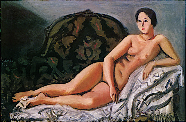 Narashige Koide: Nudo sul divano