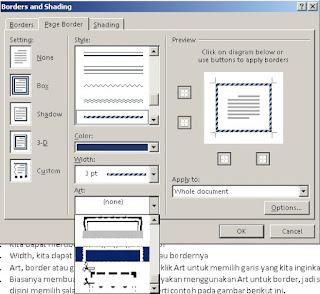 Cara Buat Bingkai di Microsoft Office Word 2013