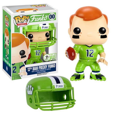 Emerald City Comicon 2016 Exclusive Seattle Seahawks 12th Man Freddy Funko Pop! Vinyl Figure by Funko