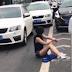 Bak Film Action! Mobilnya Alami Kecelakaan, Cewek Ini Justru Berhasil Lolos dari Penculikan