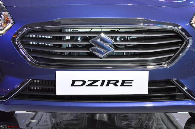 2017 Maruti Suzuki Dzire front bumper