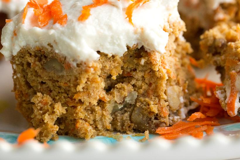 Carrot Cake Coconut Cream Cheese Frosting Vegan Recipe