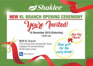 Lokasi Branch Cawangan Shaklee di Kuala Lumpur Yang Terbaru