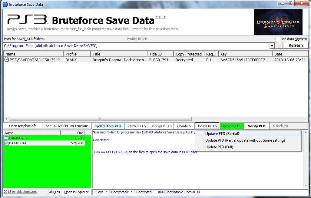 Bruteforce Save Data Tutorial