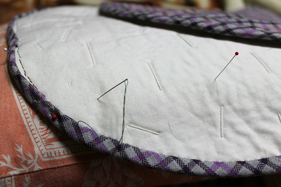 DIY Japanese patchwork tutorial quilted appliqué handbag / handmade sewing bag. Сумка в стиле японский пэчворк